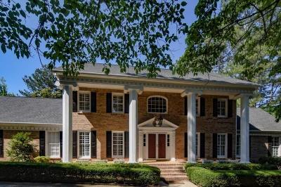 Sandy Springs Single Family Home For Sale: 2665 Spalding Drive