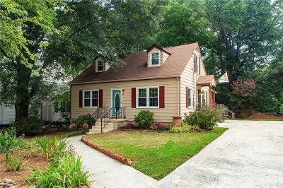 Decatur Single Family Home For Sale: 767 Medlock Road