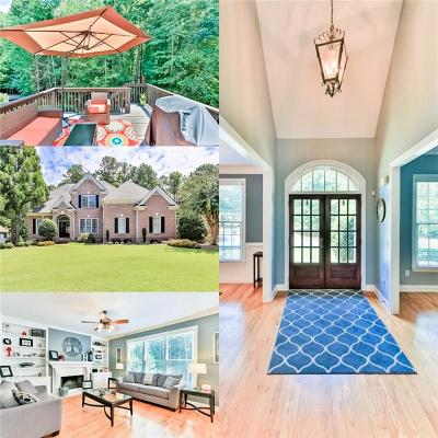 Acworth Single Family Home For Sale: 6055 Meridian Drive NW