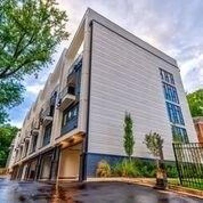 Atlanta Condo/Townhouse For Sale: 910 Ponce De Leon Avenue NE #3