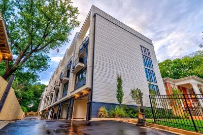 Atlanta Condo/Townhouse For Sale: 910 Ponce De Leon Avenue NE #6