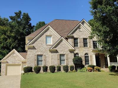 Canton Single Family Home For Sale: 208 Cedar Woods Way