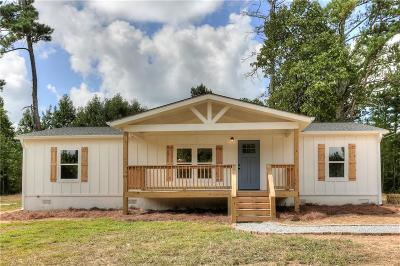 Bremen Single Family Home For Sale: 20 Reese Crawford Road