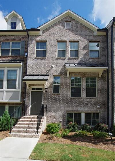 Atlanta GA Condo/Townhouse For Sale: $430,000