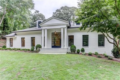Atlanta Single Family Home For Sale: 3485 Paces Ferry Road