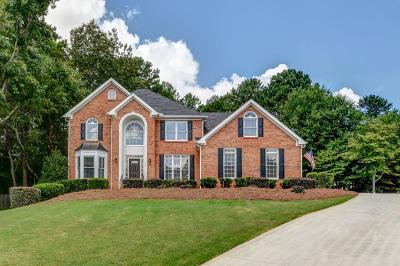 Suwanee Single Family Home For Sale: 395 Highland Gate Circle