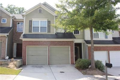 Atlanta Condo/Townhouse For Sale: 5552 Cascade Run SW