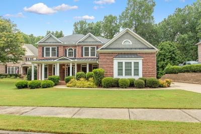 Kennesaw Single Family Home For Sale: 5160 Cherokee Rose Lane NW