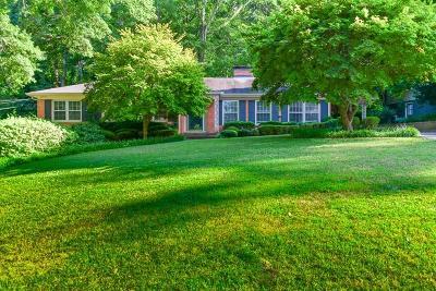 Atlanta Single Family Home For Sale: 4060 Land O Lakes Drive NE