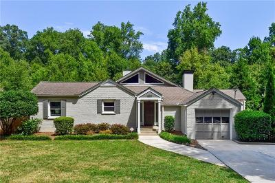 Atlanta Single Family Home For Sale: 500 Mountain Way NE