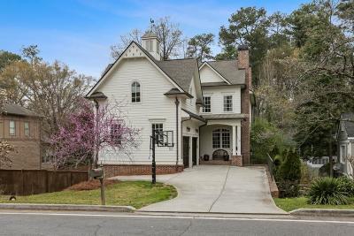 Sandy Springs Single Family Home For Sale: 116 Spruell Springs Road NE