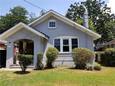 Atlanta Single Family Home For Sale: 377 Sisson Ave NE