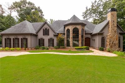 Roswell Single Family Home For Sale: 2135 River Cliff Drive