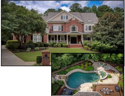 Alpharetta Single Family Home For Sale: 375 N Saint Phillip Lane
