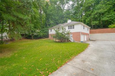 Dunwoody Single Family Home For Sale: 5163 Lakeside Drive