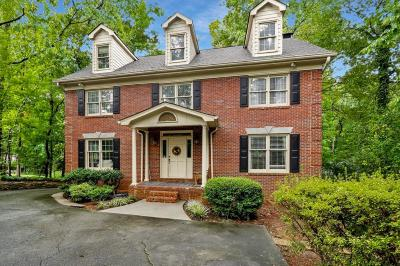 Atlanta Single Family Home For Sale: 555 Greenland Road