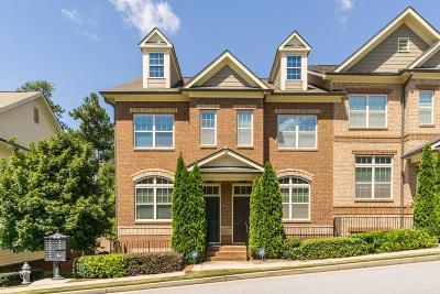 Sandy Springs Condo/Townhouse For Sale: 7420 Glisten Avenue