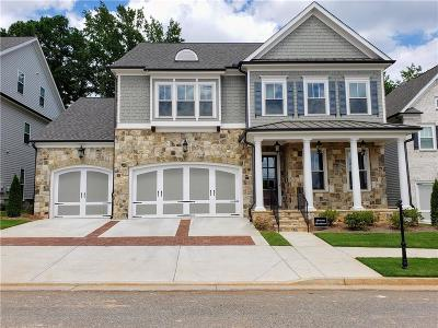 Johns Creek Single Family Home For Sale: 10490 Grandview Square