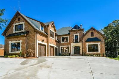 Roswell Single Family Home For Sale: 10765 Shallowford Road