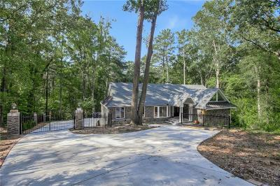 Marietta Single Family Home For Sale: 1268 Timberland Drive SE