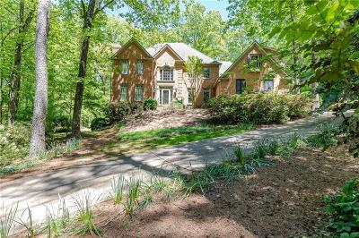 Sandy Springs Single Family Home For Sale: 2680 Spalding Drive