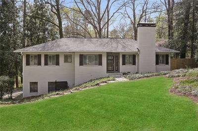 Atlanta Single Family Home For Sale: 1039 Ferncliff Road NE