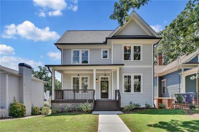 Atlanta Condo/Townhouse For Sale: 307 Augusta Avenue SE #A