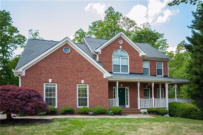 Suwanee Single Family Home For Sale: 3955 Preston Oak Lane