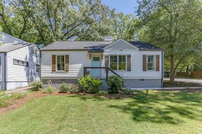 Atlanta Single Family Home For Sale: 398 Hooper Street SE