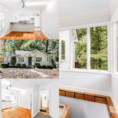 Atlanta Single Family Home For Sale: 1386 Wayne Avenue NE