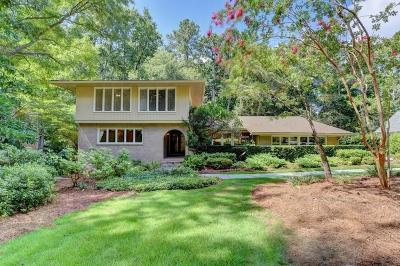 Sandy Springs Single Family Home For Sale: 6170 Mountain Brook Lane