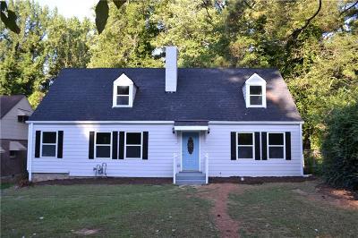 Atlanta Single Family Home For Sale: 1620 Ocala Avenue SW