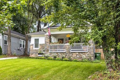 Atlanta Single Family Home For Sale: 1498 Westwood Avenue SW