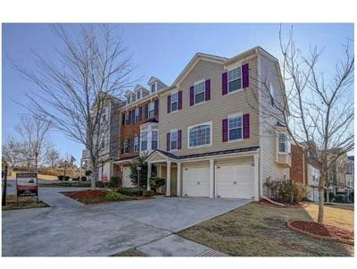 Suwanee Condo/Townhouse For Sale: 3974 Station Way #3974