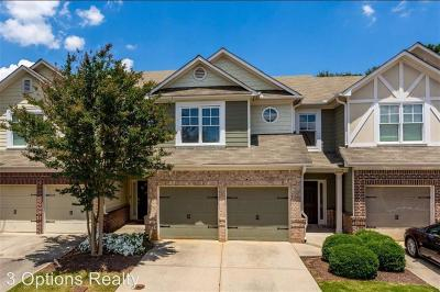 Cobb County Rental For Rent: 1529 Park Brooke Circle SW #6