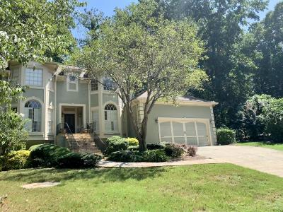 Cobb County Rental For Rent: 5132 Bedford Oaks Place