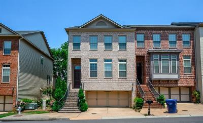 Atlanta Condo/Townhouse For Sale: 2095 Silas Way NW #2095