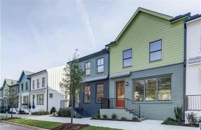 Atlanta Condo/Townhouse For Sale: 1165 Rambler Cross Avenue SE
