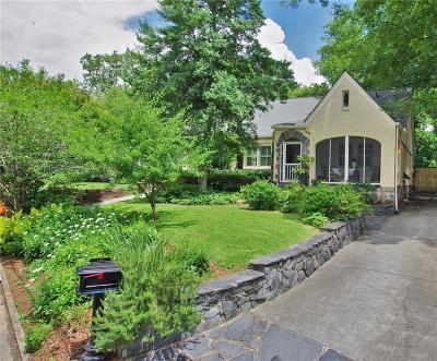 Atlanta Single Family Home For Sale: 2209 Edison Avenue NE