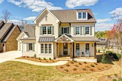 Marietta Single Family Home For Sale: 3820 Cochran Lake Drive