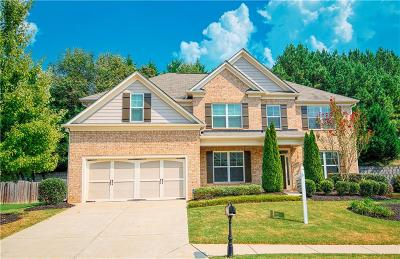 Suwanee Single Family Home For Sale: 5855 Trailwood Court