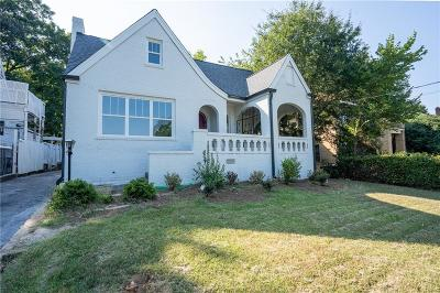 Atlanta Single Family Home For Sale: 198 Joseph E Lowery Boulevard NW