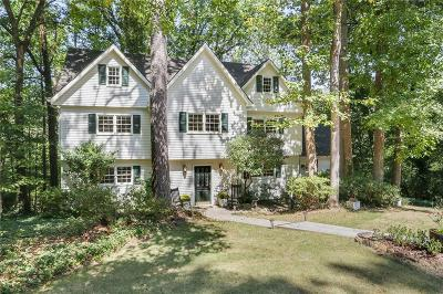 Sandy Springs Single Family Home For Sale: 1150 Churchill Downs Road NE