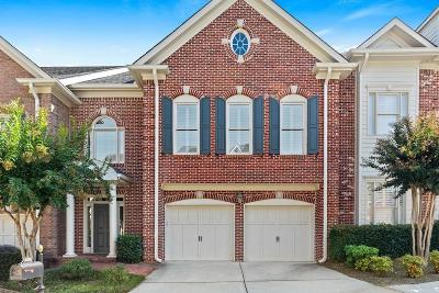 Peachtree Corners, Norcross Condo/Townhouse For Sale: 6221 Spalding Drive