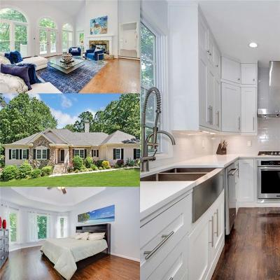 Suwanee Single Family Home For Sale: 4210 Waterford Drive