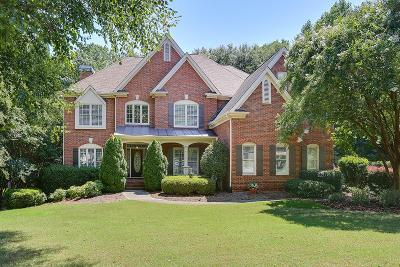 Suwanee Single Family Home For Sale: 124 Riverview Drive