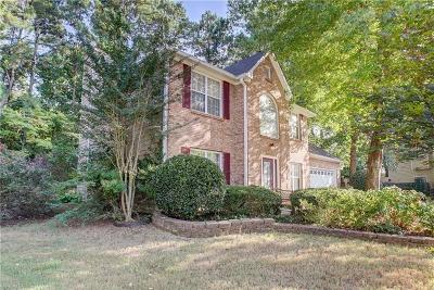 Acworth Single Family Home For Sale: 4650 Webster Way NW