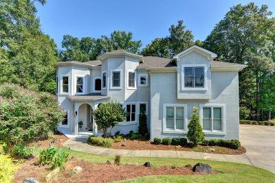 Suwanee Single Family Home For Sale: 530 Overook Mountain Drive