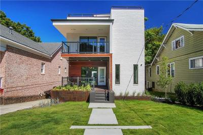 Atlanta Condo/Townhouse For Sale: 409 Arnold Street NE #B