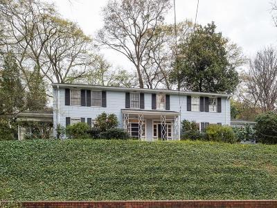 Atlanta Condo/Townhouse For Sale: 20 Montclair Drive NE